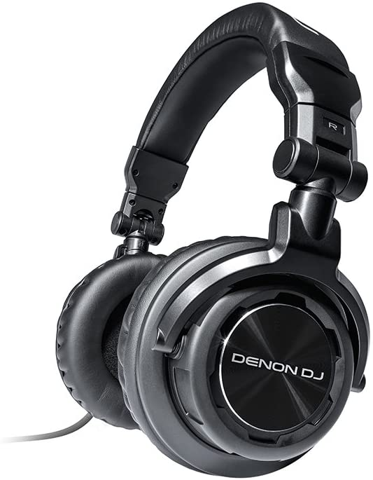 Denon DJ HP800 | Heavy-Action On-Ear DJ Headphones with Rotating Ear Cups & Included Carry Bag