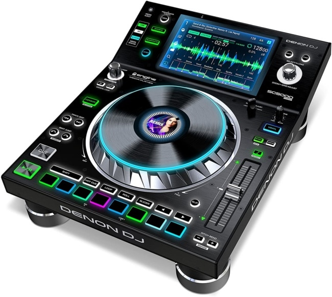 Denon DJ SC5000 Prime | Engine Media Player with 7 Multi-Touch Display