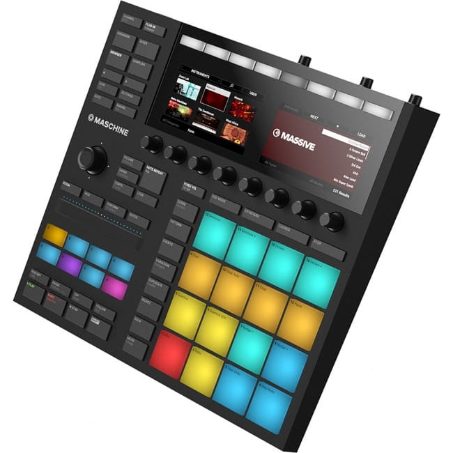 Native Instruments Maschine Mk3 Review drum controller