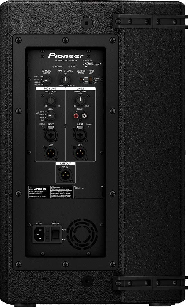 Pioneer Pro DJ XPRS10 backside