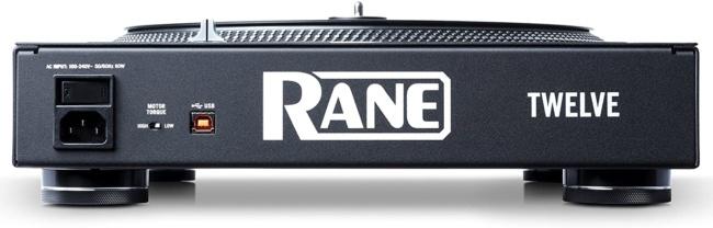 Rane DJ Twelve Digital DJ Turntable backside