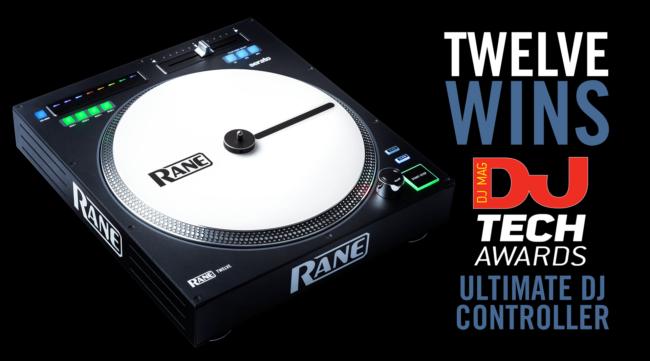 Rane Twelve White Web Banner DJ Mag Tech Awards SF