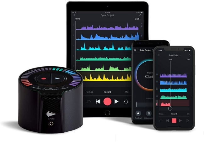 iZotope Spire Studio Portable Recorder for ios and android