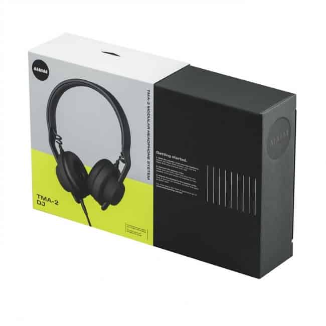 Aiaiai TMA 2 DJ Headphones package