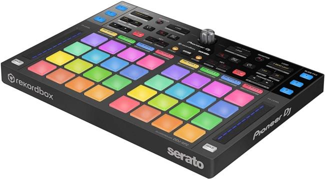 Pioneer DJ DJ Controller (DDJ-XP2) side view