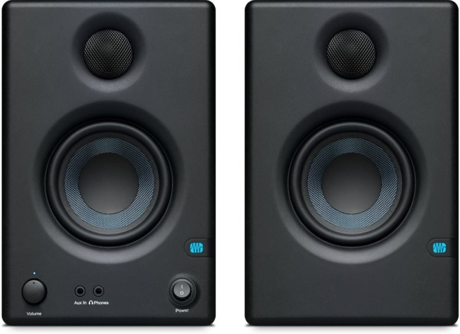 Presonus Eris E3.5-3.5 Near Field Studio Monitor (Pair) front panel
