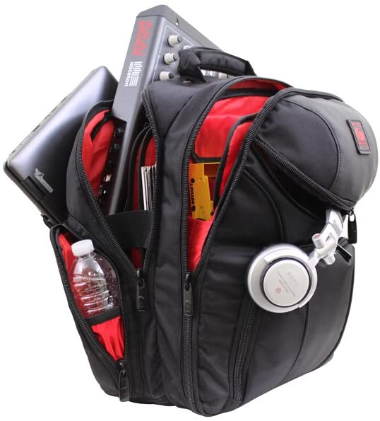 Odyssey Digital Gear Backpack (BRLBACKSPIN2) with DJ gear