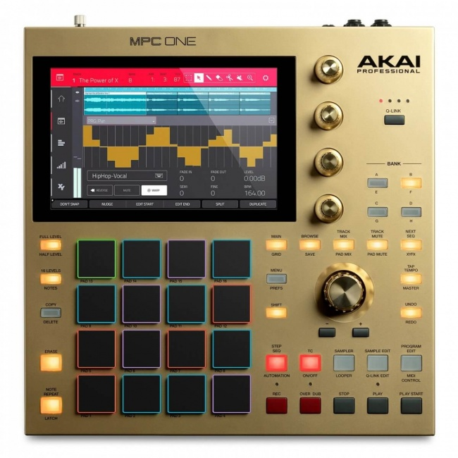 AKAI MPC-ONE-GOLD Production Controller