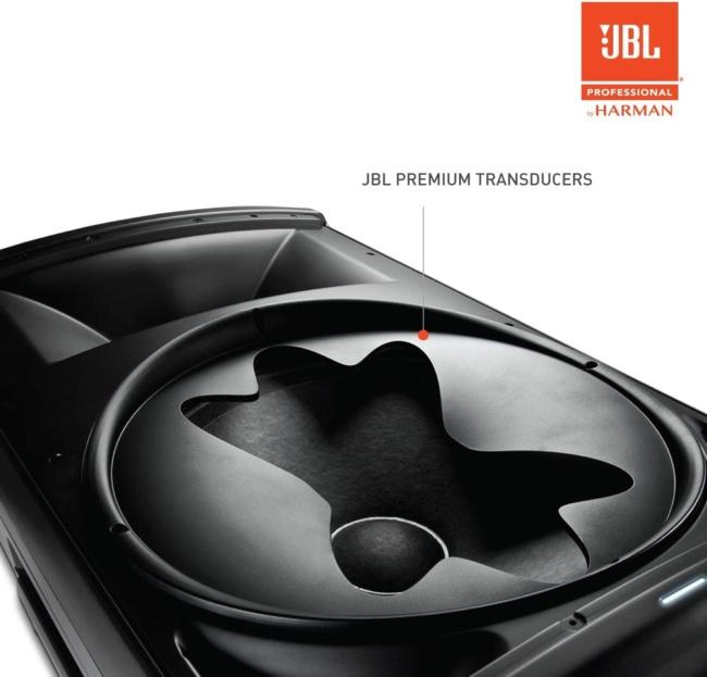 JBL Professional EON615 2-Way Multipurpose Self-Powered Sound Reinforcement, 15-Inch PREMIUM TRANSDUCERS