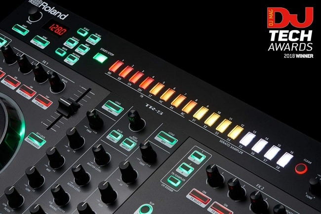 Roland DJ Controller, Two-Channel, Four-Deck (DJ-505) dj tech awards