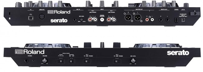 Roland DJ Controller, Two-Channel, Four-Deck (DJ-505) side pannels