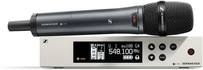 Sennheiser EW 100 ew 100 G4-945-S-A1 Handheld Wireless Microphone