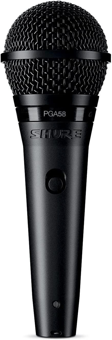 Shure PGA58-XLR Cardioid Dynamic Vocal Microphone