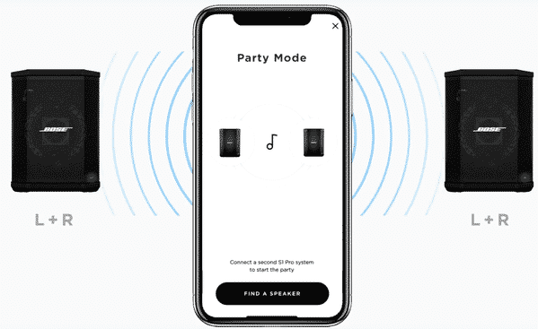 bose s1 connect with app
