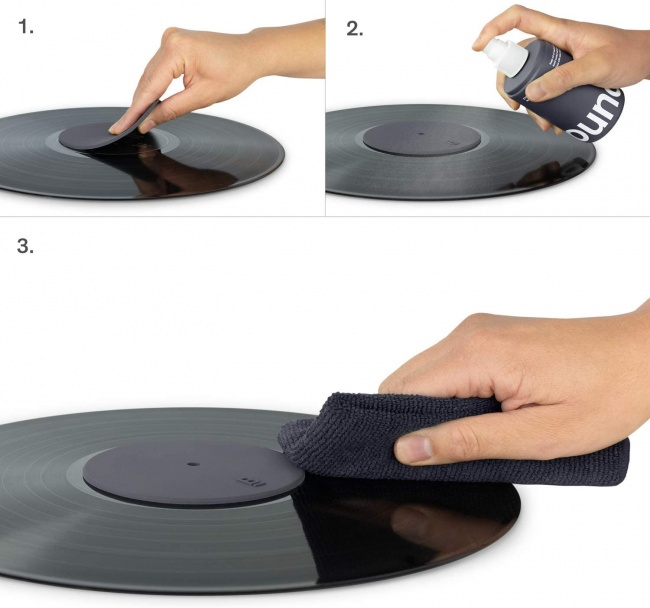 How to use Boundless Audio Record Cleaning Solution - 6.75oz Vinyl Record Cleaner Fluid & Vinyl Cleaner Cloth & Record Label Protector