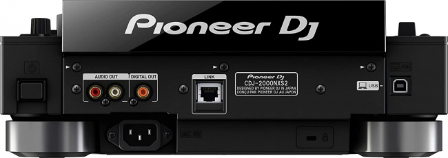 Pioneer DJ Professional Multi Player (CDJ2000NXS2) backside
