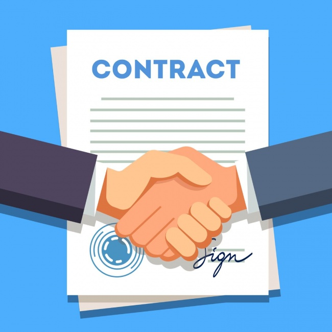 contract with a record label