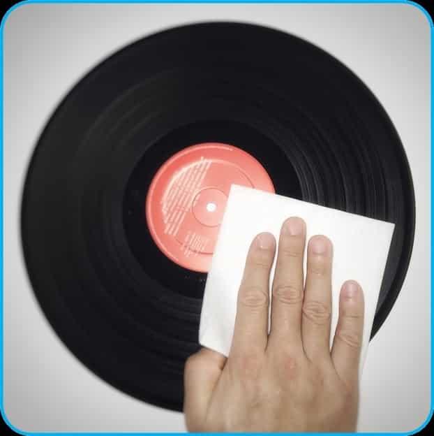 dry your vinyl records