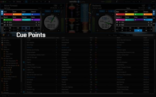 Serato DJ Cue Points
