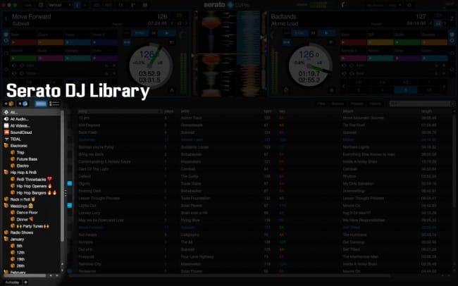 Serato DJ Music Library