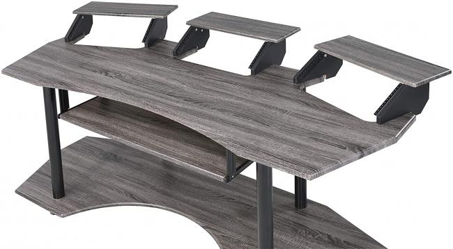 Acme Furniture Eleazar Music Recording Studio Desk 3 shelves