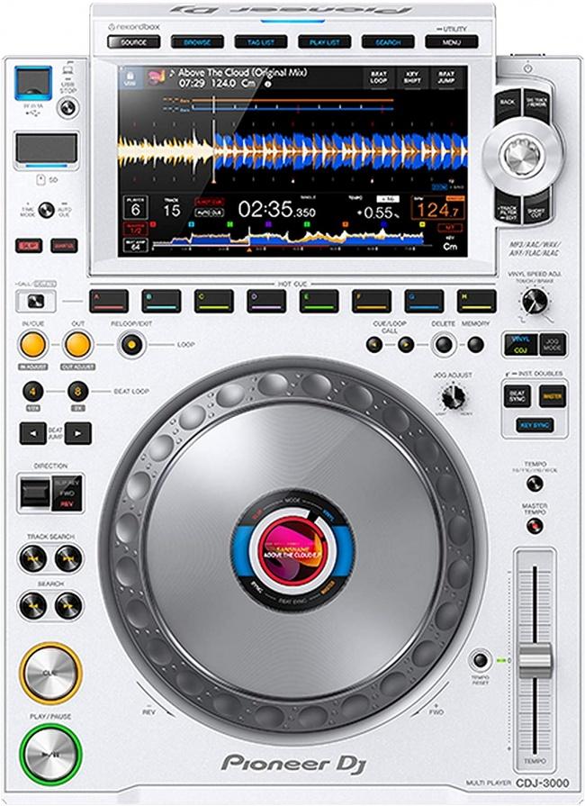 Pioneer CDJ-3000 Professional DJ Multi Player (White)