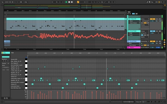 ableton - be ceative with your own sond