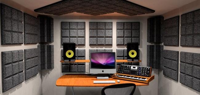 best acoustic foam panels for home studio design